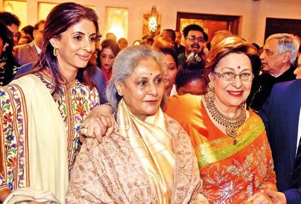 Amitabh & kapoor family relations