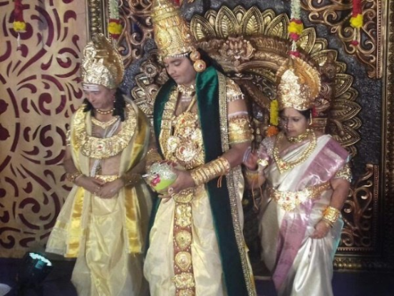 Amazing marriage theme of andhra godman!