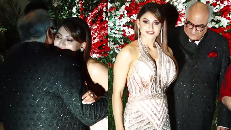 Boney kapoor shameful act with urvashi rautela