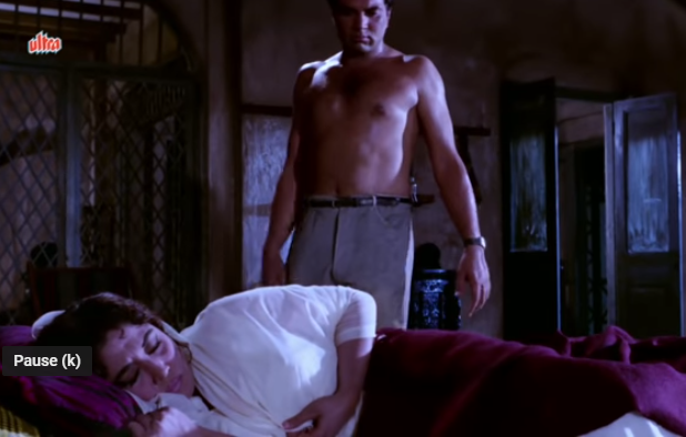 Dharmendra turn he man due to bare body hot scene