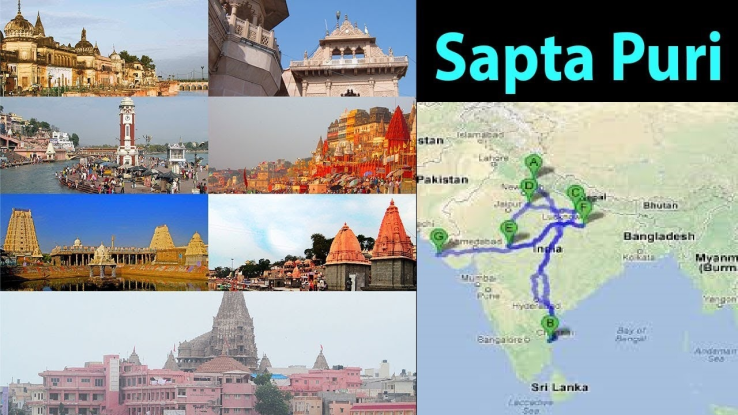 7 cities of moksha in india