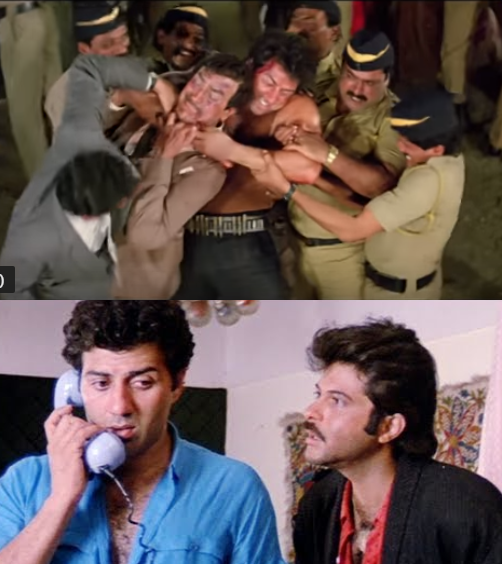 Sunny deol anil kapoor cold war incident