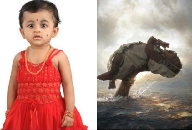 Infant bahubali was an female child