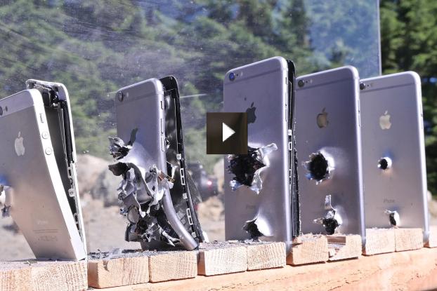 iPhone vs AK74 challange!
