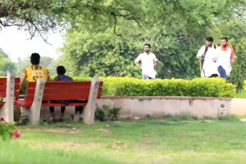 amazing bhagwa prank gone viral