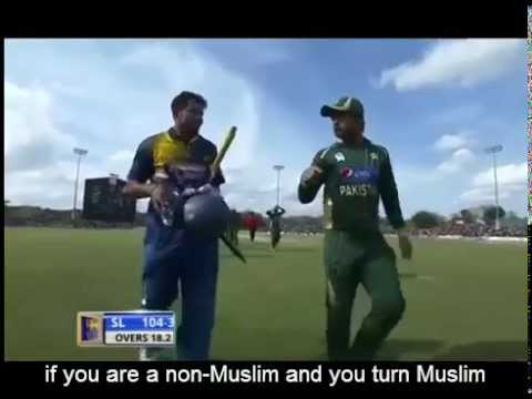 Dilshan and shehjad cricket match controversy!