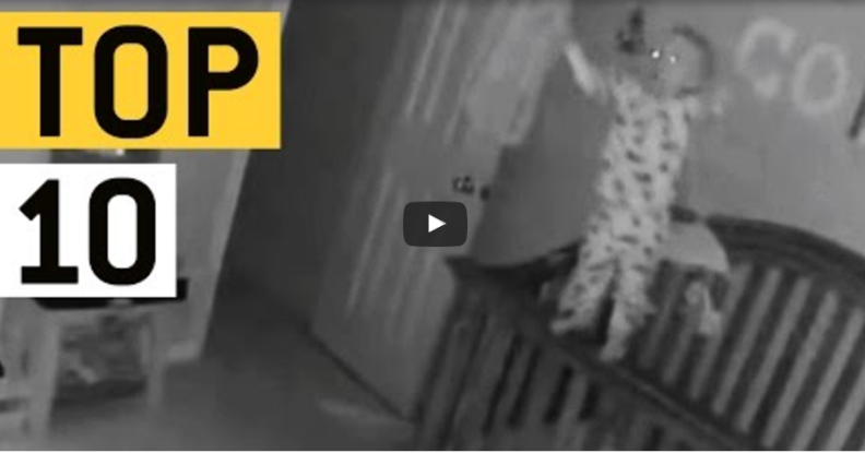 10 scary moment caught in camera!