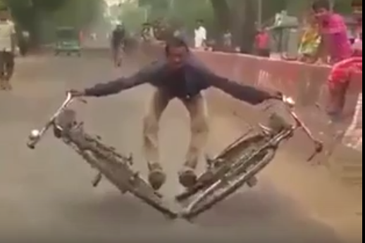 Indian juggler made it possible