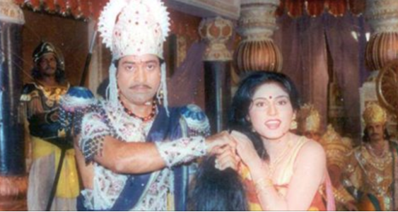 Tv serial mahabharat last episode moment!